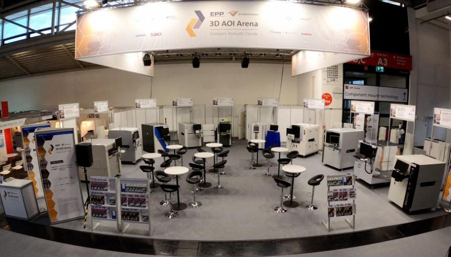 3D AOI Arena @ productronica