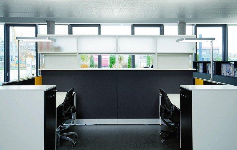nachhaltiges geb ude mit led beleuchtung. Black Bedroom Furniture Sets. Home Design Ideas