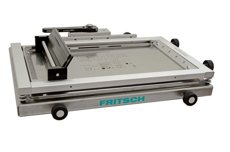 Schablonendrucker Printall005L von Fritsch mit größerer Nutzfläche