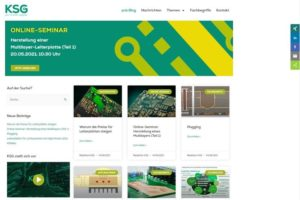 KSG launcht pcb-blog