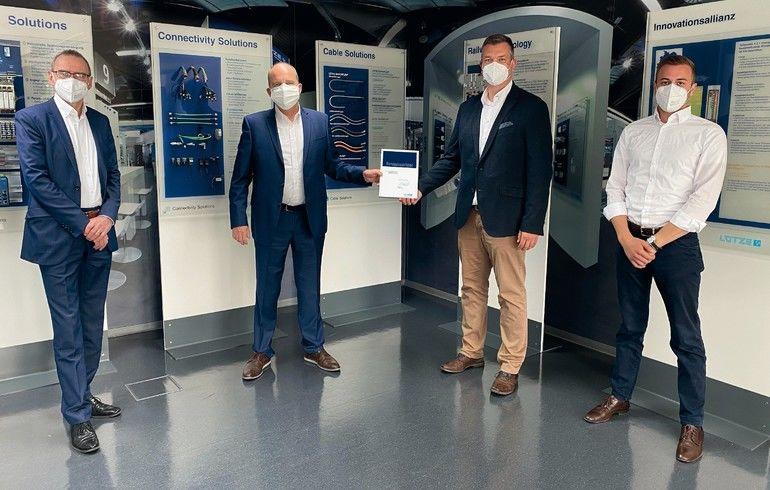 Lütze zertifiziert Kramer Industrieprodukte als Systempartner