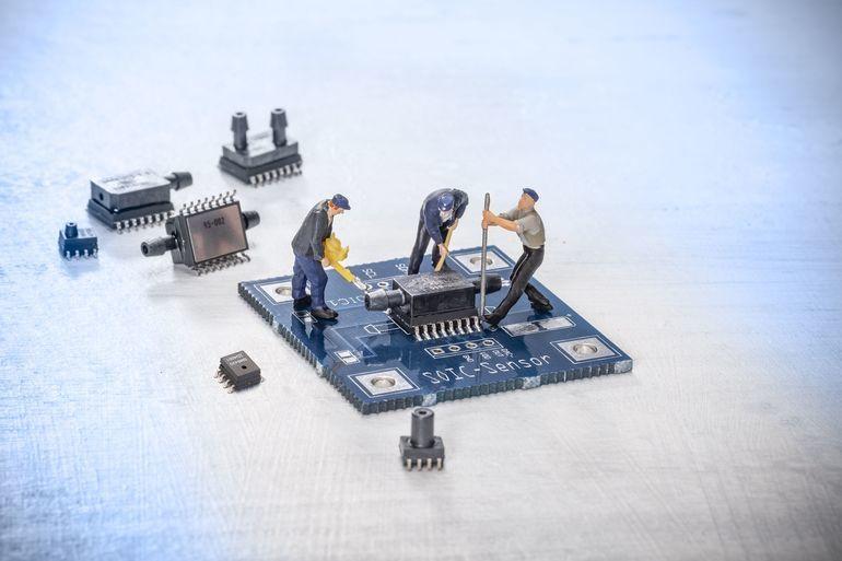 Niederdrucksensoren für die Filterkontrolle