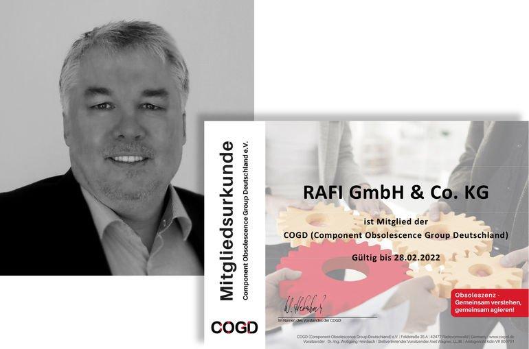 Rafi-Manager Tosberg erneut in COGD-Vorstand gewählt