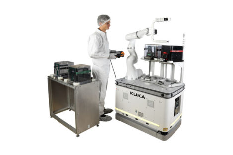 KUKA mobilen Roboter