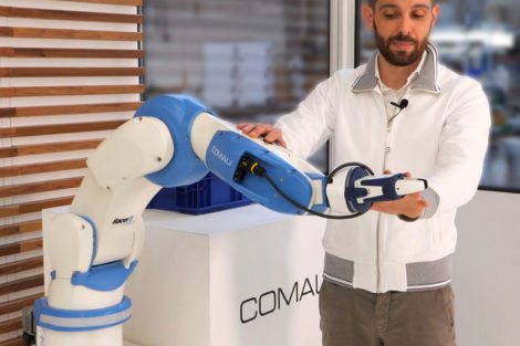 Kollaborativer Roboter für verbesserte Qualität und Produktionsleistung von Comau