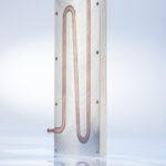 Flüssigkeitskühlung für das Batteriemanagement.