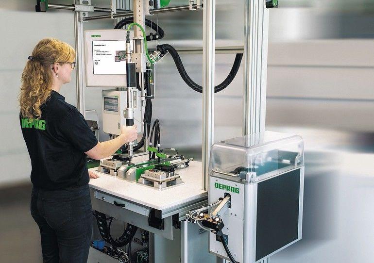 Werkerführung und Qualitätssicherung in der manuellen Montage