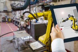 Industrie 4.0 mit Digital Twins und 3D-Simulation