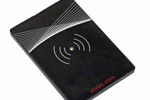 Platzsparender Multistandard-RFID-Reader.