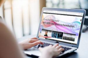Electrolube's neue deutsche Website findet Lösungen schneller