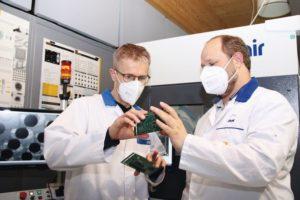 Röntgeninspektion für zuverlässige Produkte