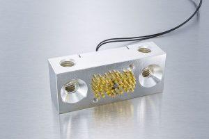 Hochleistungskontaktierungen für Batteriezellentest.