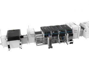SMT-Plattform für automatisierte Elektronikfertigung.