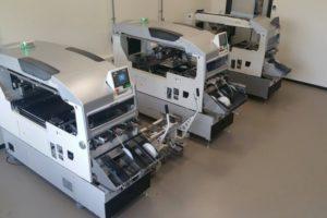 Die Abteilung Unit Repair übernimmt zentral für ganz Europa die Reparaturen von Bestückköpfen.