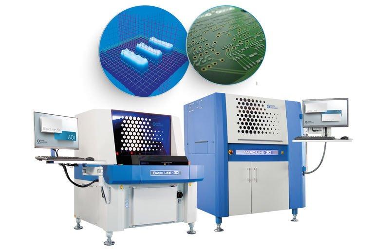 3D-AOI-System für hohe Produktvielfalt.