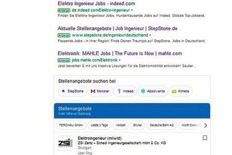 Google for Jobs eröffnet neue Perspektiven.