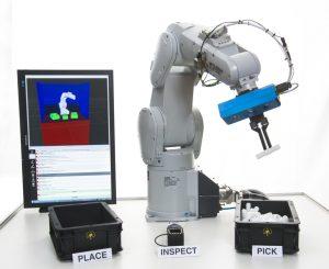 Robotersteuerung Erfordert Keine Programmierkenntnisse Bin Picking