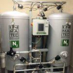 Der zweite der beiden PN 2250 Stickstoffgeneratoren.