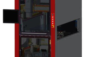 Vollautomatische Fertigungslinie zur realen Umsetzung von Industrie 4.0.