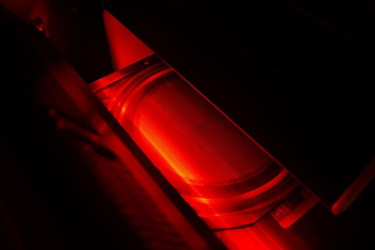 Highspeed-Zeilenkameras erlauben einen maximalen Durchsatz bei höchster Präzision.