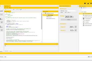 Scriptbasierte Software für Prüfanlagen