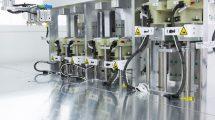 Laseraktivierter Klebeprozess als skalierbarer Fertigungsprozess.