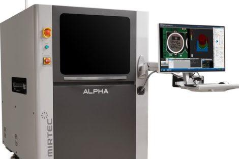 Mirtec Alpha_SIP in der 3D AOI Arena