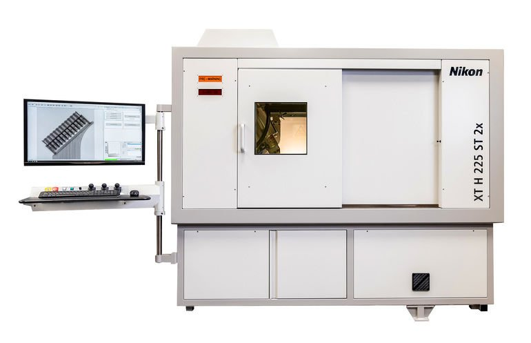 Röntgen-CT-System von Nikon mit verdoppelter Prüfeffizienz