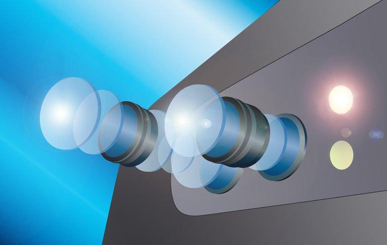 Optimale Fixierung von Halbleiter durch halogenarmen UV-Klebstoff.