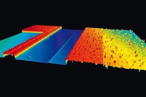 Messung von Strukturdetails im Nanometerbereich