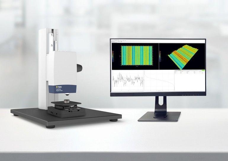 Inline-Weißlichtinterferometer von Polytec für schnelle Fertigungsprozesse
