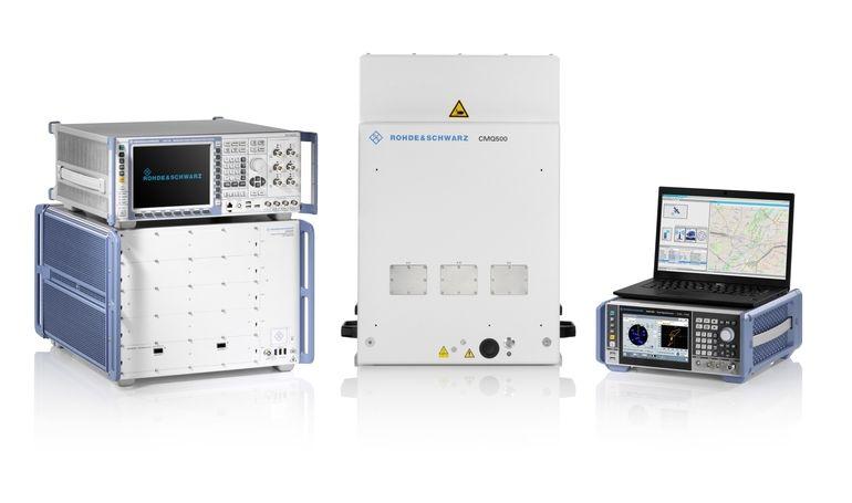 Testplattform CMX500 und CMW500