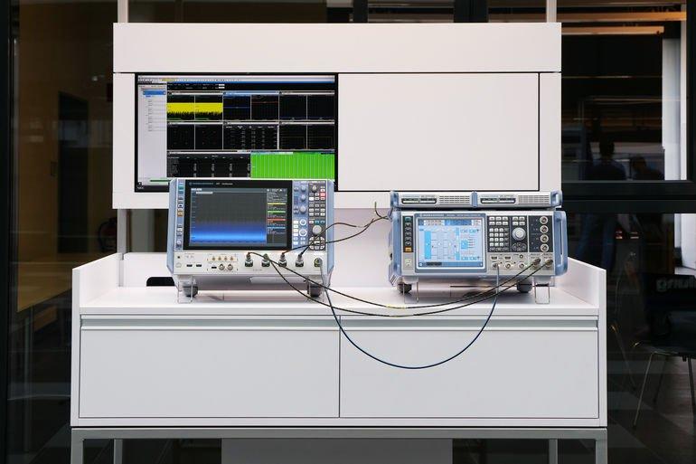 Testlösungen für 5G-Basisstationen