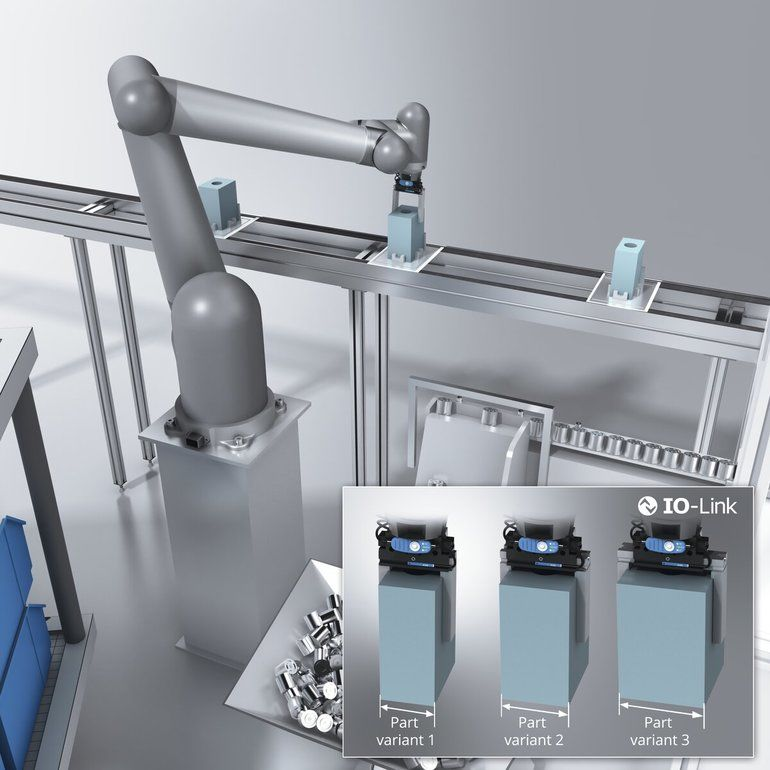 Positionssensor für Greifer und Miniaturzylinder