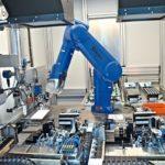 Robotergestützte Sensormontage in Industrie 4.0-Umgebung