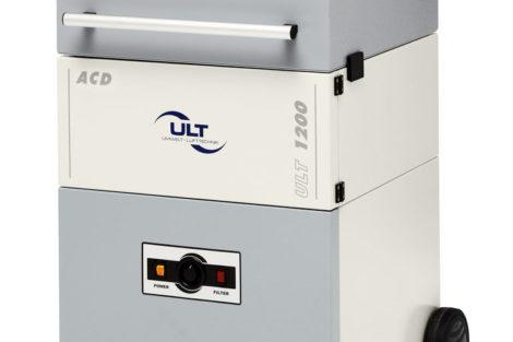 Absaug- und Filteranlage von ULT beseitigt Luftschadstoffe.
