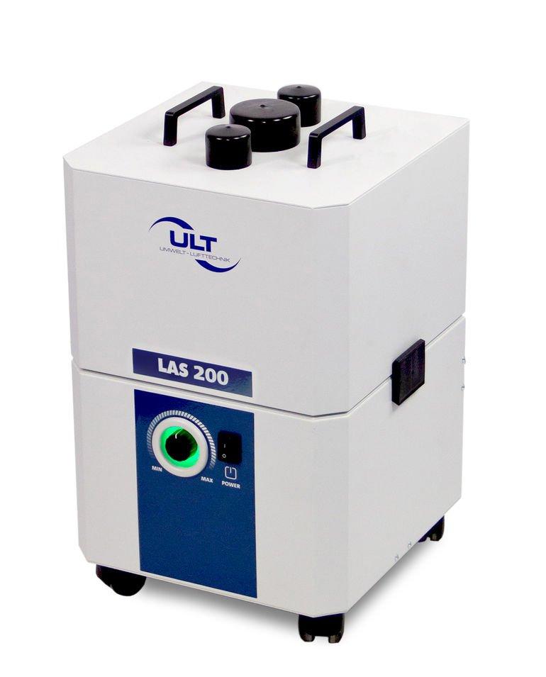 Kompakte und mobile Absauganlage für Laserrauch