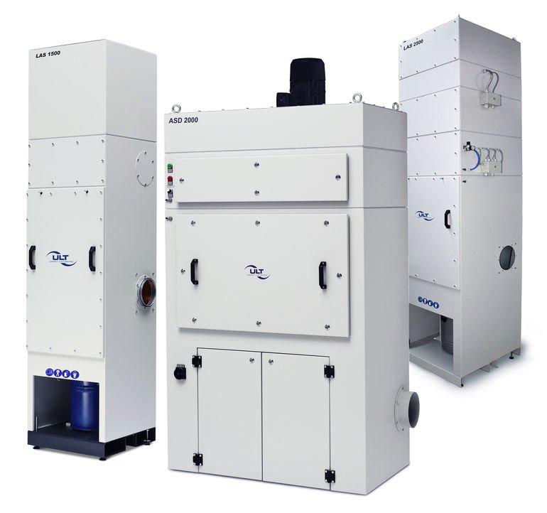 Absaug- und Filtersysteme sorgen für reine Luft