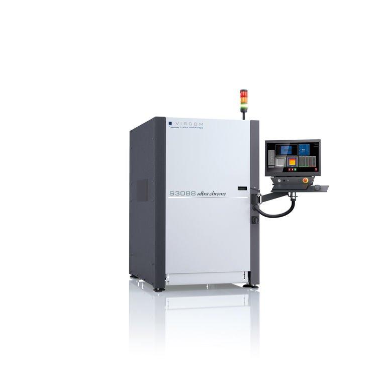 3D-Lotpasteninspektion mit fortschrittlichster Sensorik