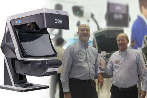 Digitales, stereoskopisches 3D Full-HD Betrachtungssystem.