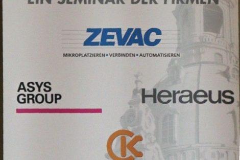 14. Seminar für aktuelle Trends in der Aufbau- und Verbindungstechnologie.