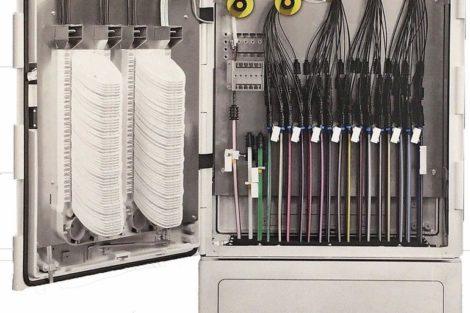 Individuelle Gehäuse für den Glasfaserausbau durch Kooperation.